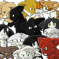 Warrior_cats___group_drawing___by_digidespairheart-d49ey7x